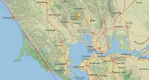 California Wine Country Map 2 9 Earthquake Rattles The Wine Country Near Sonoma And Napa Sfgate