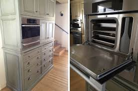 Miele Kitchen Cabinets Induction Cooktops And Steam Ovens In Home Kitchens Professional