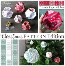 now available christmas edition triskele paper globes hattifant