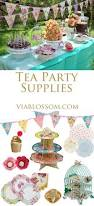 scrumptious tea party via blossom tea party ideas