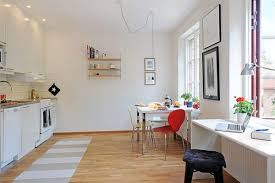apartments simple and neat design ideas using strips light and