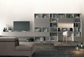 biblioth ue avec bureau meuble tv avec bureau bibliothèque l10 colombini casa