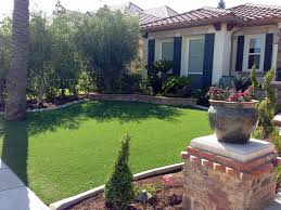 Arizona Front Yard Landscaping Ideas - synthetic grass picture rocks arizona lawn and landscape small