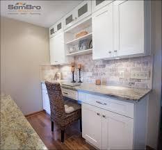 Office Kitchen Design Kitchen Room Wonderful Desk Out Of Kitchen Cabinets Built In
