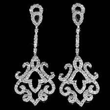 diamond chandelier earrings diamond chandelier earrings diamond earrings for weddings