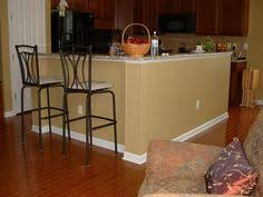 Kitchens With Bars And Islands Bead Board Under Kitchen Island Kitchen Pinterest Kitchens