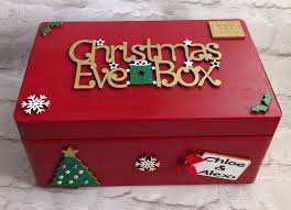christmas boxes personalised christmas box personalised christmas box