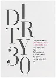 milestone birthday invitations online at paperless post
