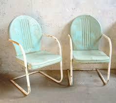 Retro Metal Patio Chairs 15 Retro Metal Patio Chairs Retro Metal Lawn Chairs Pair Rustic