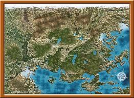 World Map Unlabeled Blank Fantasy Map City
