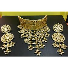 bridal choker necklace images Bollywood choker necklace set bridal latest jewelry jpg