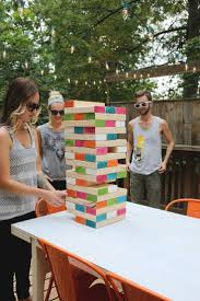 could have the kids paint the blocks and make it a smaller sized