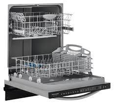 frigidaire dishwasher home depot black friday frigidaire gallery 24 u0027 u0027 built in dishwasher stainless steel fgid2466qf