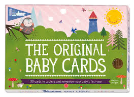 milestone baby cards amazon co uk baby