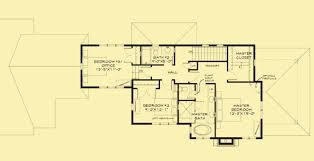 craftsman floorplans narrow lot craftsman house plans