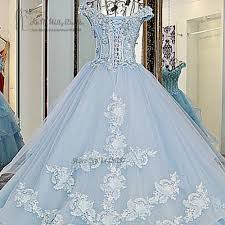 light blue wedding dresses vestido de noiva princesa luxo vintage light blue wedding dresses