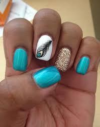 50 easy nail designs designs nail art feather nail art and