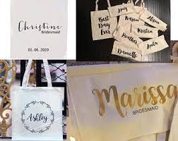Bridal Party Makeup Bags Wedding Thank You Gift Make Up Bag Personalised Bridesmaid