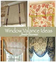 window valances ideas window valance ideas jennifer decorates