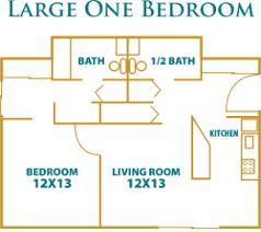 1 u0026 2 bedroom independent living apartments floor plans