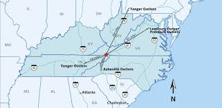 Tanger Outlet Map Outlets Quick Facts
