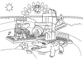 lego duplo national zoo coloring pages batch coloring