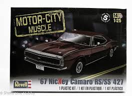 1967 camaro kit revell 67 nickey camaro rs ss 427 1 25 plastic model car kit 85