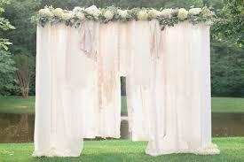 wedding backdrop tutorial diy outdoor wedding backdrops candydirect