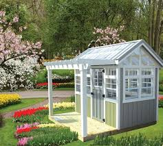 Garden Shed Greenhouse Plans 195 Best Potting Shed Images On Pinterest Architecture Garden