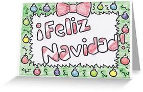 feliz navidad christmas card feliz navidad christmas card greeting cards by drawingsbymaci