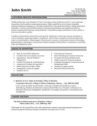 resume samples for customer service resume template and