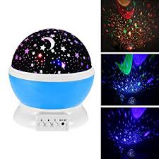 childrens night light projector amazon com baby night light moon star projector 360 degree rotation