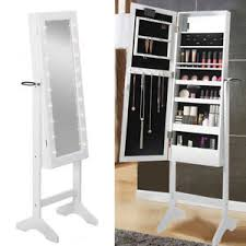 full length mirror with led lights full length mirror cabinet makeup jewellery organizer storage box