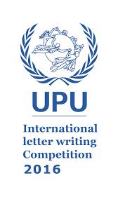 Apply Universal Postal Union International Letter Writing 2016 International Letter Writing Competition For