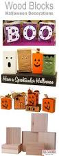 high end halloween decorations 3 diy halloween block decorations wonder what to do with