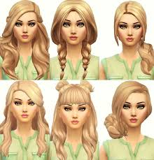 custom hair for sims 4 best 25 sims hair ideas on pinterest sims 4 custom content