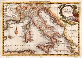 Positano Italy Map Vintage Italy Map Greece Map
