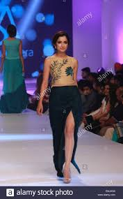 lahore pakistan 21st apr 2015 the models presented the