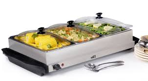 Elite Platinum Stainless Steel Buffet Server by Kitchen Buffet Server For Enchanting Your Kitchen Appliance Ideas