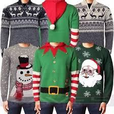 3d sweater jumper novelty 3d sweater santa snowman