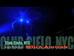 dj offer nissim nyc club cielo with light designer mitch amtrak