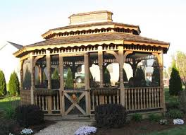 Gazebos And Pergolas For Sale by Amish Built 12x14 Wood Gazebo Kits For Sale Alan U0027s Factory Outlet