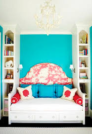 the domestic curator a bedroom in turquoise toile and tole