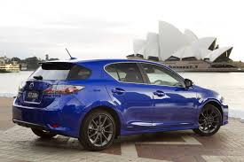 lexus sports car blue sydney motor show lexus introduces ct 200h f sport