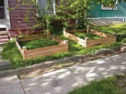 easy to build raised bed gardening plans using reclaimed lumber