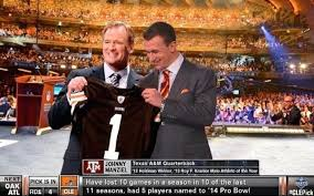 brown s day report browns will not draft johnny manziel with fourth