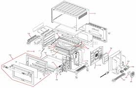 Breville Convection Toaster Oven Breville Bov800xl Parts List And Diagram Ereplacementparts Com