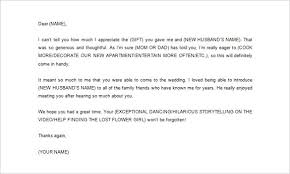 appreciation letter doc free interview thank you letter samples