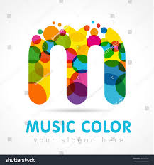Font For Business Letter by Colorful Letter M Logo Design Business Stock Vector 367734734