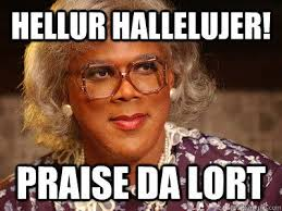 Tyler Perry Memes - love madea this made me think of you jocelyn henson hehe